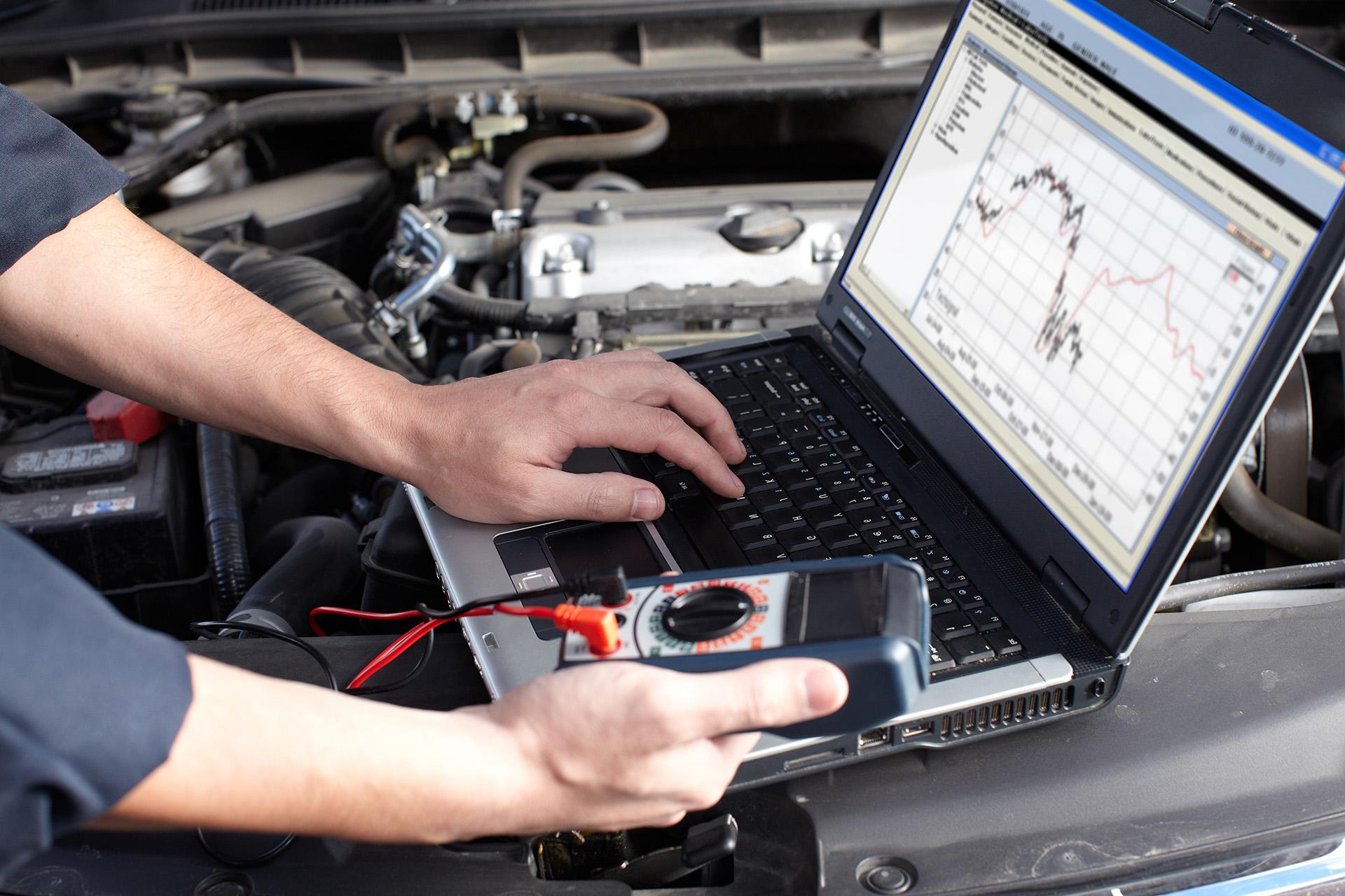 Computer car diagnostics, Diagnostyka komputerowa